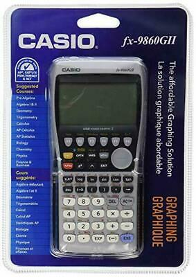Casio FX-9860GII FX-9860G AU PLUS School Graphics Calculator
