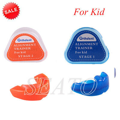 Teeth Trainer Braces Dental Orthodontic Retainer Appliance 2 Stages for kid