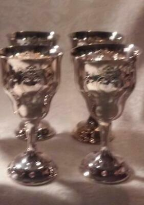 SILVERPLATE Gorham COLONIAL Water Goblet 7523168