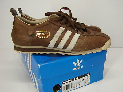 Sneakers Shoe Men ADIDAS Athletic Size 5 Brown 62 4 CHILE wOmNn08v