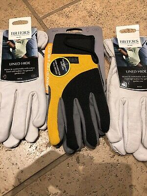 Briers Gardening Gkoves 3 Pairs Size Large
