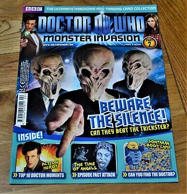 Dr Who Monster Invasion Collectable Trading Cards Magazine - Issue 2