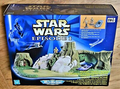 Star Wars Hasbro Galoob 1999 Micro Machines - Naboo Temple Ruins Boxed Set