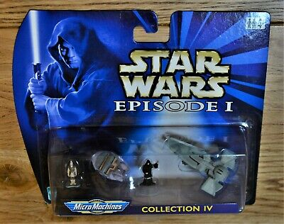 Star Wars Hasbro Galoob 1999 Micro Machines Collection Iv - Mundi Sidious Taxi