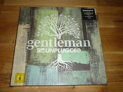 Gentleman - MTV Unplugged - Limited Deluxe Box 2CD/4LP/BluRay/DVD/signed 7""