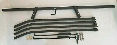 3) Aisin Seiki Toyota Knitting Machine Parts  Rare Black Tilting Stand Complete