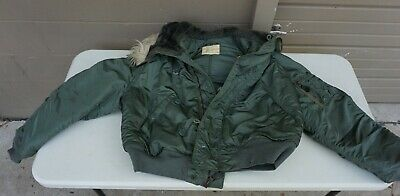 Jacket, Flying, Man's Heavy w attached hood N-2B size X- LARGE   (top Lkr 8)