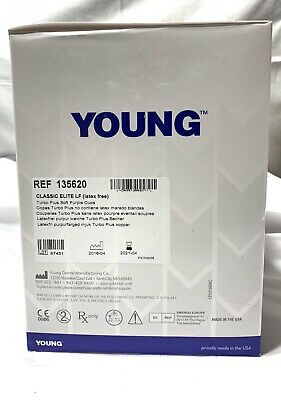 Young Disposable Prophy Angles Classic Elite LF 135620 ~200 Ct ~ BRAND NEW