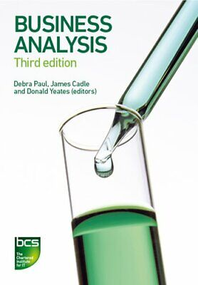 Business Analysis by James Cadle 9781780172774 | Brand New | Free UK Shipping