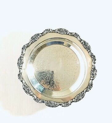 Gorgeous Poole Lancaster Rose Footed Pie Plate EPCA 430
