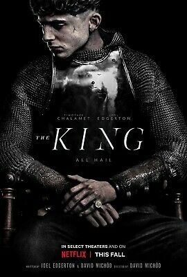 The King movie poster  - 11 x 17 - Timothee Chalamet
