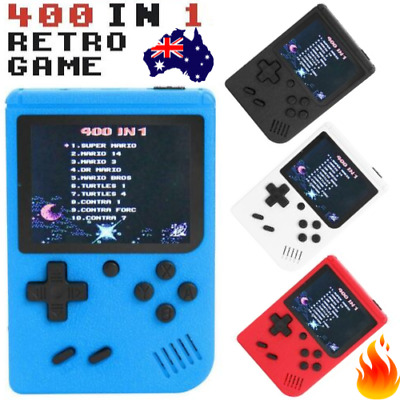 Retro Game Boy [ 400 in 1 ] RETRO FC - 3 Inch HANDHELD Player Box Gaming Console