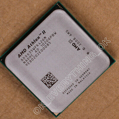 AMD Athlon II X4 635 CPU Quad-Core 2.9 GHz 2M Socket AM3 Processors