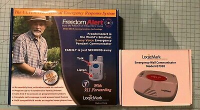 NEW in Box Freedom Alert Personal Emergency Response System Dialer 35511 37920