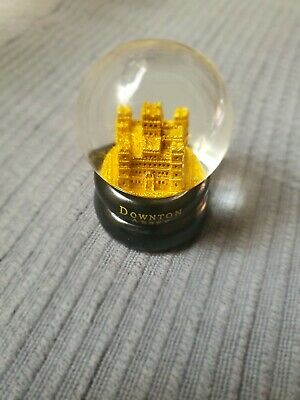 NEW DOWNTON ABBEY Movie Snow Globe