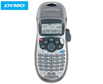 DYMO LetraTag Personal Portable Kitchen Label Maker Tabletop Labeller Silver