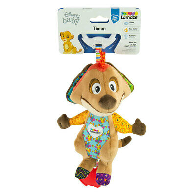 Lamaze Disney 0m+ Lion King Clip & Go Carrier/Bag Baby/Infant Soft Toy Timon