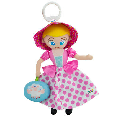 Lamaze 0m+ 29cm Toy Story Clip & Go Stroller/Bags Baby/Infant Soft Toy Bo Peep