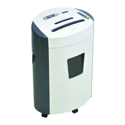 GoEcoLife 23L Micro Cut Shredder 12 A4 Paper Sheet/Credit Card/DVD's Home Office