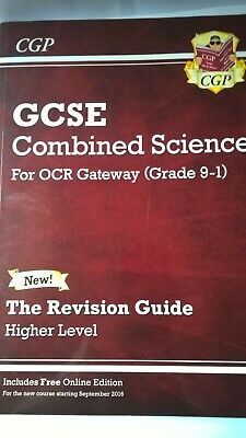 Combined Science Grade 9-1 GCSE Higher OCR Revision Guide + Online Edition -...