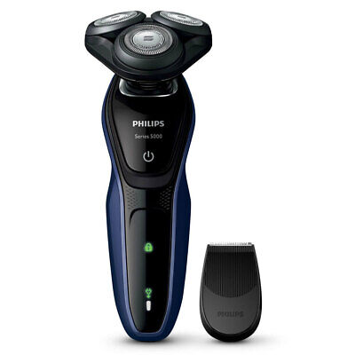 Philips S5086/06 AquaTouch Electric Shaver Wet/Dry Cordless Rechargeable Trimmer