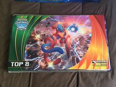 Tapis / Playmat Pokémon Deoxys National 2015 TOP 8
