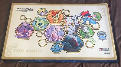 Tapis / Playmat Pokémon National 2016 TOP 8