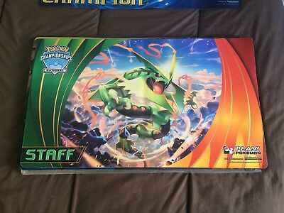 Tapis / Playmat Pokémon Rayquaza National 2015 STAFF