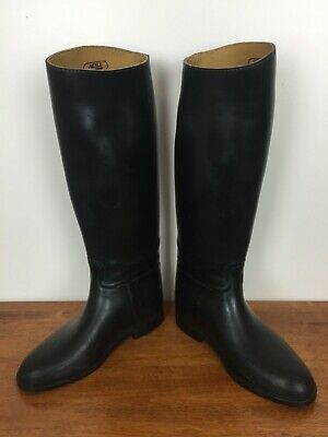Aigle black riding boots size 39