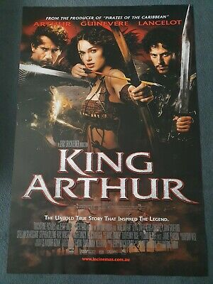 King Arthur Cinema Poster