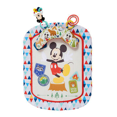 Bright Starts 0m+ Baby/Infant Mickey Mouse Camping Friends Tummy Prop Mat w/Toys