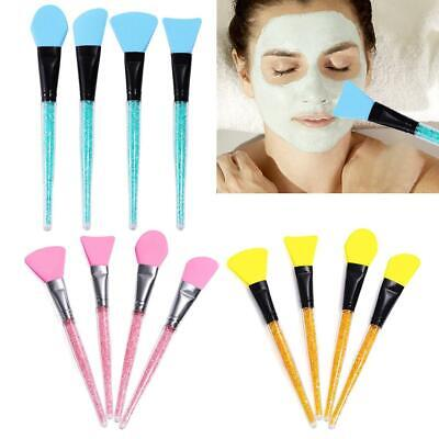 Facial Mud Mask Flat Brush Silicone Makeup Face Care Cosmetic Applicator Beauty