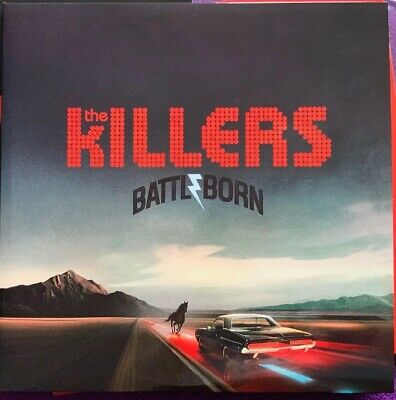 The Killers - Battle Born - Rotes Vinyl 2xLP im Klappcover NM