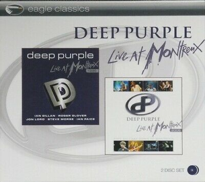 Deep Purple - Live At Montreux (1996 And 2006) - 2 x CD