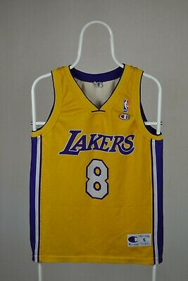 La Lakers #8 Kobe Bryant Nba Vest Champion Jersey Sz S