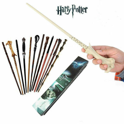 Magic Wand Boxed Harry Potter Hermione Dumbledore Voldemort Character Wand
