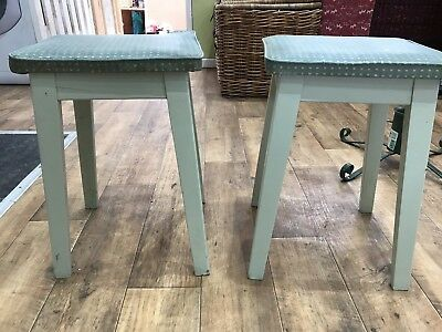 **Reduced** Vintage Authentic 1950s / 1960s Kitchen Stools x2