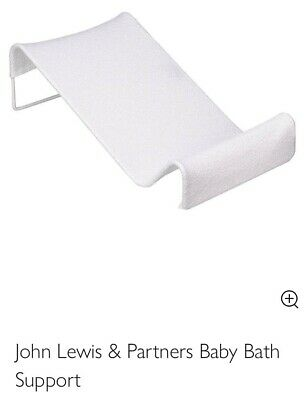 NEW John Lewis Baby Bath Support (white) RP £9.95