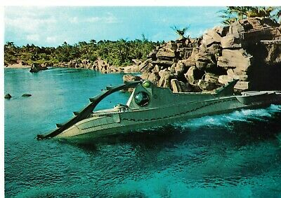Postcard Walt Disney World 20000 Leagues Under The Sea Nautilus FL