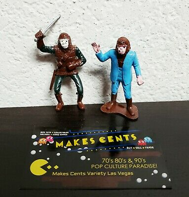 Planet of the Apes Vintage 1960s 2 1/2 Inch Figures Made for Sears RARE Nice! #1