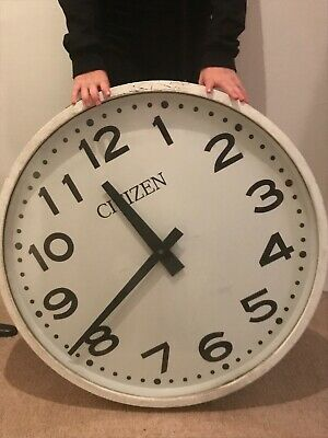"Huge , Station , Office , Factory , School 27"" Diameter Citizen Wall Clock"
