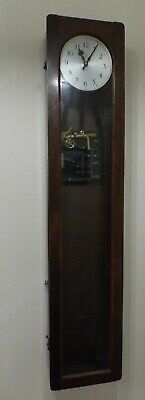 Vintage Synchronome Master Clock - no pendulum - spares / repairs / project