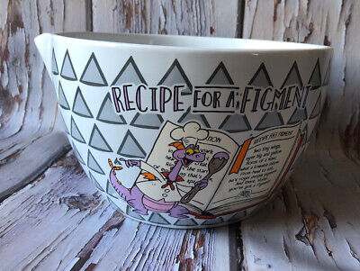 Figment Glass Mixing Bowl w/ Spout 2019 Epcot Food & Wine Festival Disney Parks