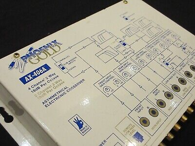 Phoenix Gold AX-406A Crossover for Car Audio Amplifiers Amps