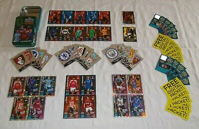 Match Attax 18 - 19 = Bundle of 60 Cards + OPEN Mega Tin (B3)