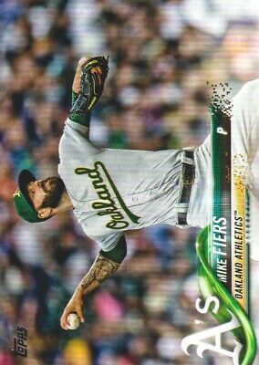 2018 Topps Update Baseball #US225 Mike Fiers Oakland Athletics