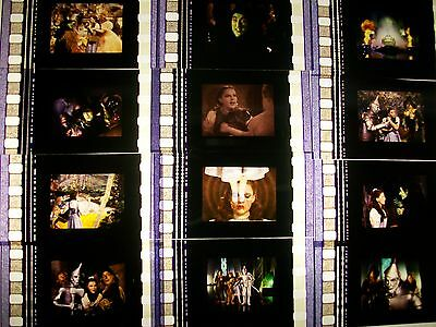 WIZARD OF OZ Lot of 100 Film Cells - Compliments DVD poster book movie