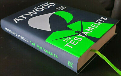 The Testaments - Margaret Atwood SIGNED First Edition First Impression NEW
