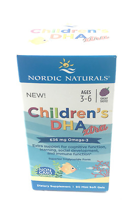 Children's DHA Xtra 90 Softgels by Nordic Naturals