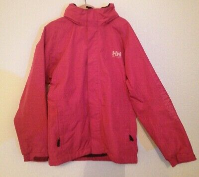 Girls Helly Hansen light jacket, pink colour, size 140 - 10y.o.